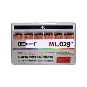 Gutta Percha maat 40 / 10 stuks