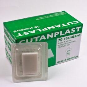 Cutanplast plaat 50x70x10 mm (vervanger Willospon plaat)