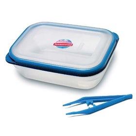 Desinfectie box incl. pincet