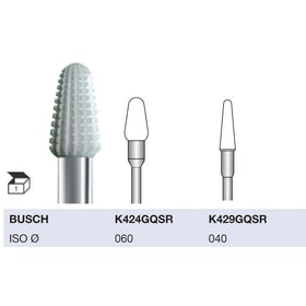 Busch Keramische frais K424GQSR060 L+R